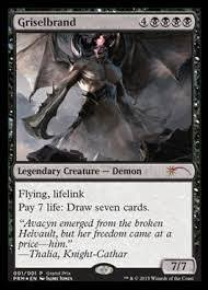 amazon com magic the gathering griselbrand gp foil promo x1