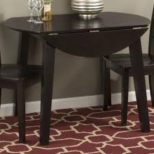 Round Dining Room Sets With Leaf by Jofran Caramel Finish Round Drop Leaf Table Beyond Stores