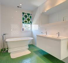Stunning Green Floor Tiles With Oval Tub And Stylish Floating Vanity ... Bathroom Fniture Ideas Ikea Green Beautiful Decor Design 79 Bathrooms Nice Bfblkways 10 Ways To Add Color Into Your Freshecom Using Olive Green Dulux Youtube Home Australianwildorg White Tile Small Round Dark Stool Elegant Wall Different Types Of That Will Leave Awesome Sage Decorating Glamorous Rose Decorative Accents Lowes