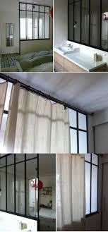 faire une salle de bain dans une chambre la verrière intérieure en 62 idées pour toute la maison photos