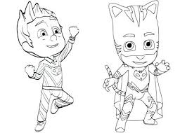Pj Masks Coloring Pages Dreaded Masquerade 783