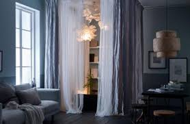 raumteiler mit vorhang paravent trennwand oder regal