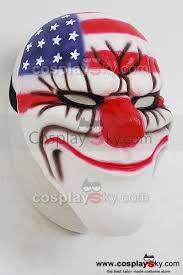 Payday 2 Halloween Masks by Payday 2 Dallas Mask Replica Halloween Cosplay Payday The Heist