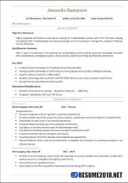 Bookkeeping Resume Samples Bookkeeper Word Entry Level Accountant Examples Template