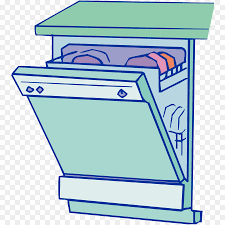 Dishwasher Tableware Clip Art
