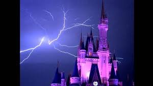 Lightning Bolt Over Cinderellas Castle