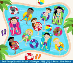 Pool Party Clipart Clip Art For