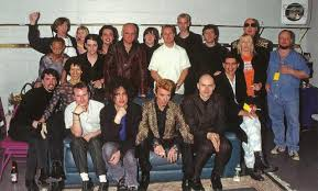 Smashing Pumpkins Drummer Mike Byrne by Bowie And Friends Heroes Pinterest