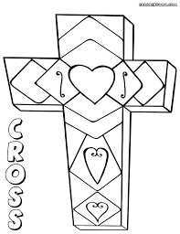 Cross Coloring Page Pages To And Print