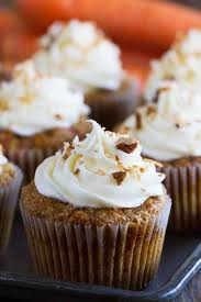 Simply the best these Carrot Cake Cupcakes are filled with lots of carrots and coconut