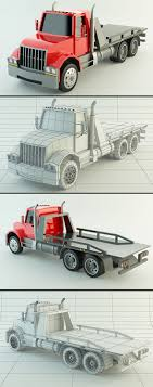 100 3d Tow Truck Games Low Poly 3DOcean Item For Sale Low Poly 3D Models In