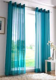 Brylane Home Grommet Curtains by Sheer Teal Curtains Curtains Ideas