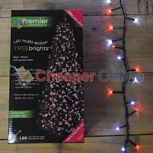 5ft Christmas Tree With Led Lights by Premier Decorations Treebrights Led Christmas Tree Indoor Outdoor