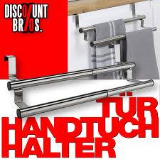 küchen doppel handtuchhalter tür handtuchhalter aus edelstahl 25 40cm ausziehbar discountbros günstiger geht nicht