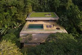 100 House In Forest Stunning Modern House In Brazils Rain Forest Has Cozy Sunken Living