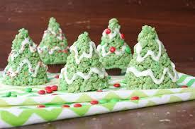 Rice Krispies Treat Christmas Trees