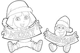 Excellent Disney Princess Christmas Coloring Pages Printable Best Merry Happy Holidays Free Printing