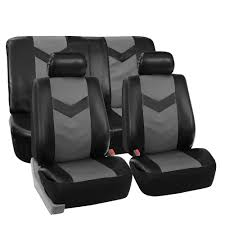 100 Cars And Trucks Ebay Complete PU Leather Car Seat Covers Set Gray Black For Car SUV Truck