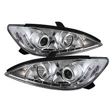 spyder auto toyota camry 02 06 projector headlights drl