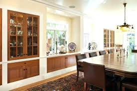 Built In Dining Room Hutch Ideas Decor China With Best Decorating On