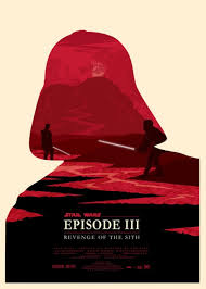 Prequel Trilogy By Olly Moss Posted Oneonethreeeight 2 Ollys Treatment Of The Star Wars