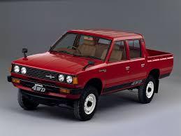 Datsun Pickup 4WD Double Cab | Classic Cars | Pinterest | Nissan ...