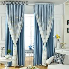 Cherry Blossom Curtain Blue by Buy Cherry Blossom Curtains And Get Free Shipping On Aliexpress Com