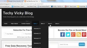 How I Made My Blog - How To Add Or Remove The Menu And Sub Menus ... Responsive Navigation Menu Bar Html Css Jquery Youtube Drmweaver Horizontal Spry Explained In Depth Drop Top Bar Html Wikiwebdircom Css Form Tag Breaks Navigation On Google Chrome Only Down 1 Of 2 With And Move Ajax Search From Top To Main Header 10 Selling Soaps Tag Rated Soap Soaps How Unlock Blogger Widgets Georgia Lou Studios Manage Rambo Theme Webriti Help Centre