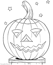 Halloween Pumpkin Coloring Pages At Raising Our Kids