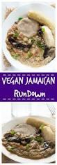 Jamaican Pumpkin Soup Vegan by Jamaican Vegan Rundown Recipe Healthier Steps