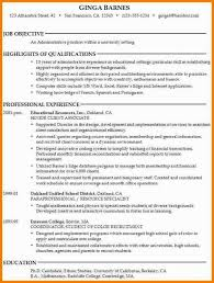 Resume Objective Examples For Student College Students 10 Example Debt Spreadsheet Application Optional Also Goal Faculty