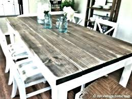 Solid Wood Kitchen Table Oak Gorgeous Reclaimed Tables Made
