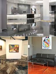 Reflector Designer Metallic Epoxy Flooring