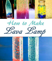 A DIY Lava Lamp That Kids Will Enjoy To Watch It Is Also Unique