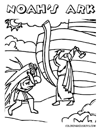 Download Coloring Pages Noah Page Bible Book For Kids Boys Archives