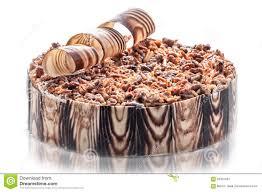 decoration patisserie en chocolat gâteau de chocolat d anniversaire avec les écrous et la décoration