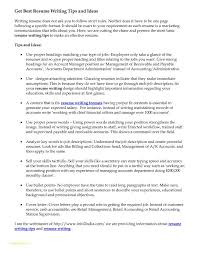 Bullet Point Resume Template And Advice Preparation