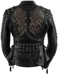 571 00 black brand womens mantra leather jacket 264730