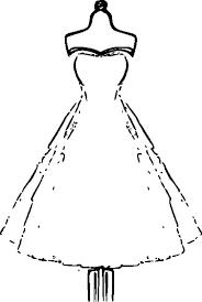 Dress Coloring Pages 56