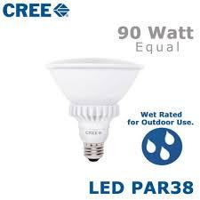 cree led par38 18 watt 90 watt equal outdoor