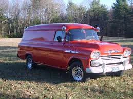 1958 Chevy Apache 38 Panel Truck 1 Ton! | Toys And Trucks And ...