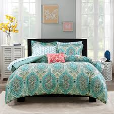Aerobed With Headboard Uk by Bedroom Floral Paisley Bedding With Black Headboard And Wooden