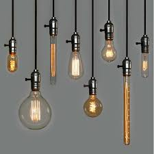 Pendant Lights Glamorous Edison Bulb Pendants Bare Light Fixture Decorative