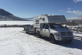 100 Truck Camper Camping Winter Pete Horneck Adventure