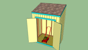 Diy 4x8 Storage Shed by How To Build A Lean To Shed Howtospecialist How To Build Step