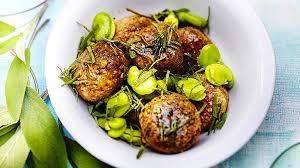 sauge cuisine recettes recette boulettes de sarrasin aux herbes fèves au beurre de sauge