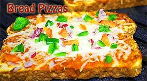 Bread Pizzas Recipe