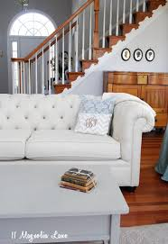 Martha Stewart Saybridge Sofa by Pottery Barn Chesterfield Sofa Review And Lower Cost Alternatives
