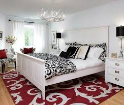 Red And White Bedroom Ideas Mesmerizing Decor Bedrooms Guest