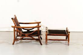 Ficks Reed Lounge Chair by Superb Pair Of Vintage Ficks Reed Rattan Lounge Chairs With